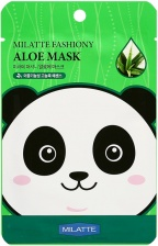 Маска тканевая с экстрактом алое Milatte Fashiony Aloe Mask Sheet